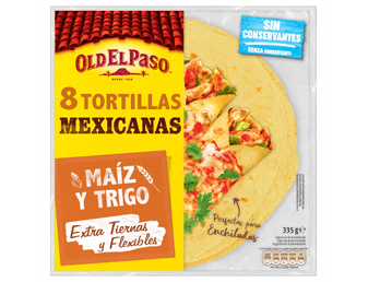 Tortillas Mexicanas con maiz