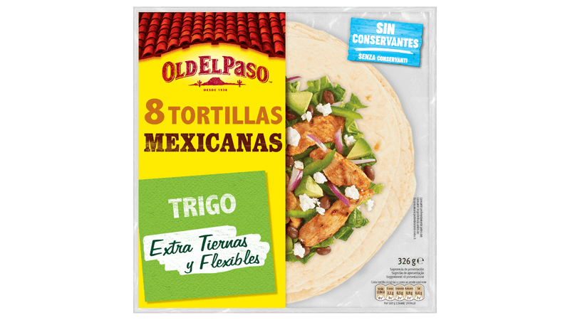 Tortillas Mexicanas de trigo